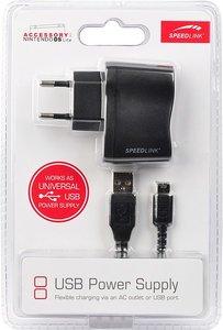 Speedlink SL-5612-SBK-A USB Power Supply, Ladegerät für DS LiteÖ