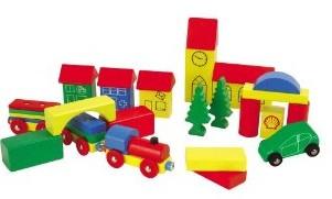 Heros 100027181 - Holzbausteine: Combi Box 32