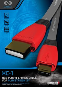 Gioteck XC-1 Play and Charge Cable (USB-Lade-Kabel)