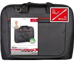 Escudo Tasche SL-6064-BK für Notebook bis 39,6 cm (15,6 Zoll), s