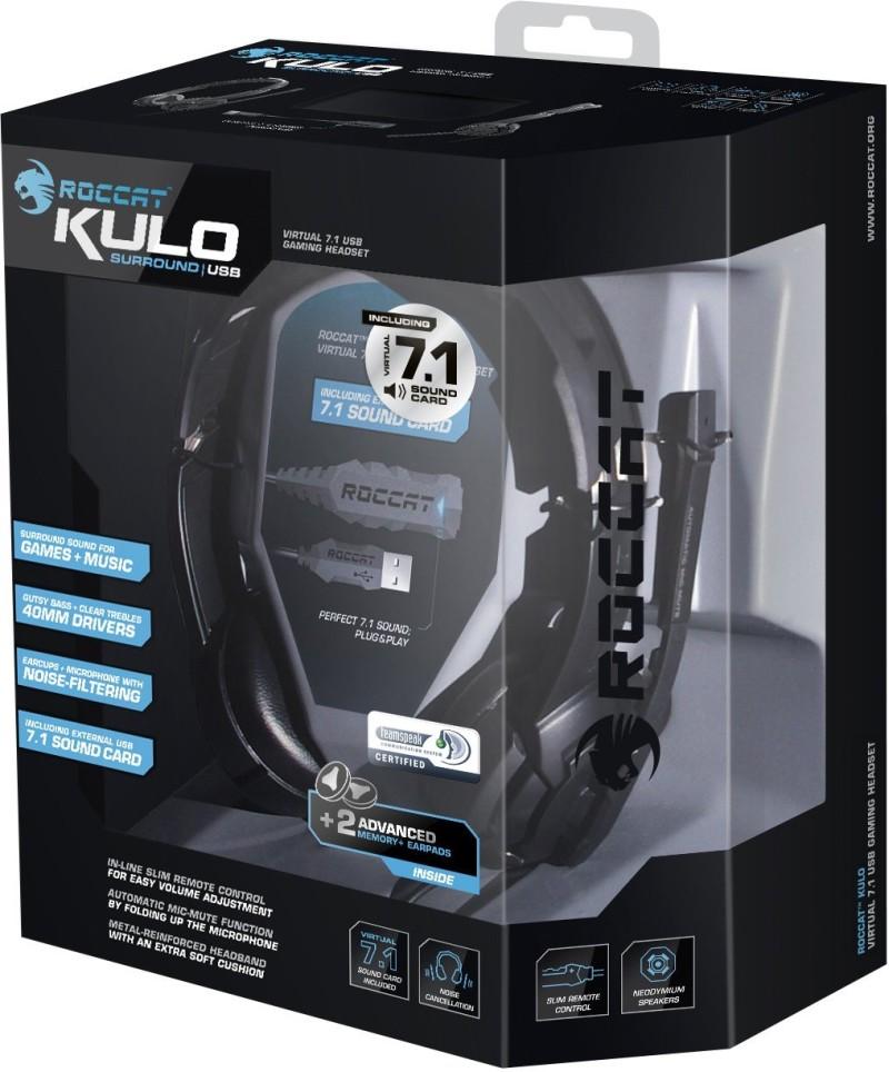 ROCCAT Kulo - Virtual 7.1 USB - Kopfhörer - Gaming Headset