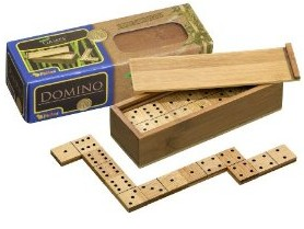 Philos 3265 - Domino Doppel 6, Bambus
