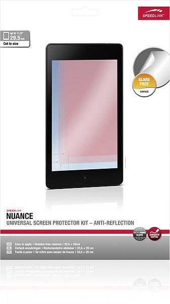 Speedlink NUANCE Universal Screen Protector Kit, Anti-Reflection