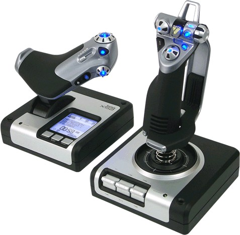 Saitek X52 Flight Control System, PC Flug-Steuerungs-System
