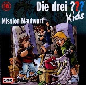 Die drei ???-Kids - Mission Maulwurf, 1 Audio-CD