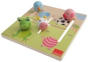 Jumbo Spiele D53100 - Goula: Labyrinthpuzzle Tiere