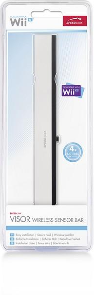 Speedlink SL-3408-WT-02 VISOR Wireless Sensor Bar - für Wii®/Wii