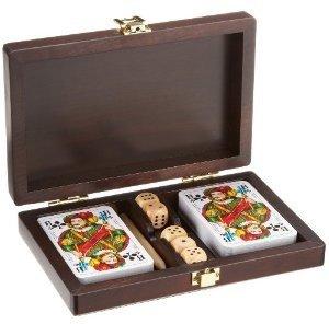 Philos 6652 - Kartenset Rommé mit Yatzi