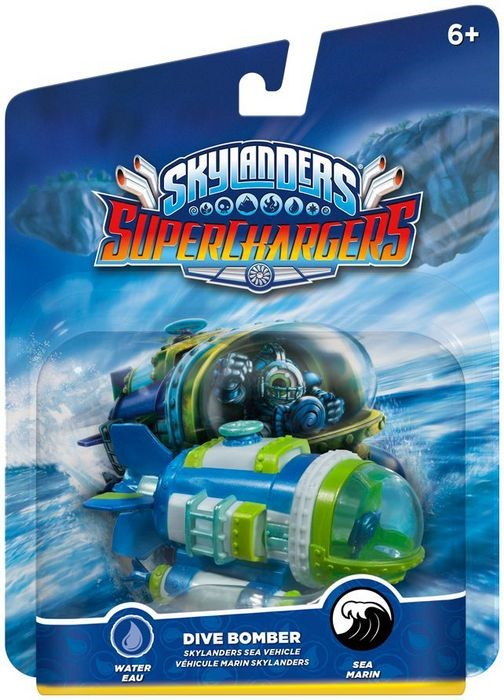 Skylanders SuperChargers: Fahrzeug - Dive Bomber