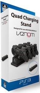 Venom Quad Charging Stand für PS3 (Offiziell lizensiert)