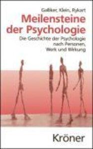 Meilensteine der Psychologie
