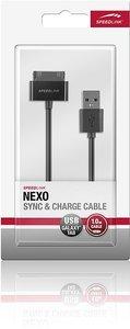 NEXO Sync & Charge Kabel - für Galaxy Tab, schwarz