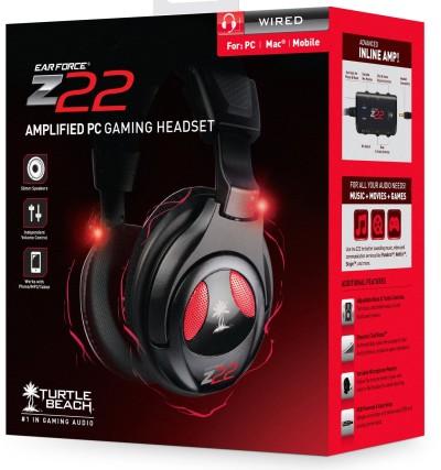 Ear Force Z22 Stereo-Gaming-Headset mit Verstärker