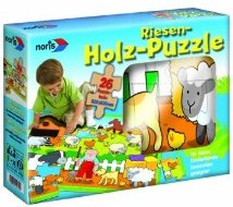 Holz - Boden Puzzle 26 tlg.