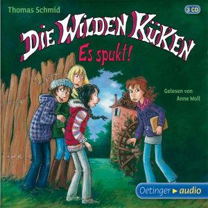 Die Wilden Küken - Es spukt!, 3 Audio-CDs