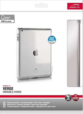 Speedlink SL-7163-CR VERGE Invisible Cover - Hartschale für iPad