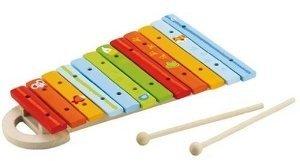 Sevi 81855 - Xylophon, buntes Glockenspiel, 12 Töne