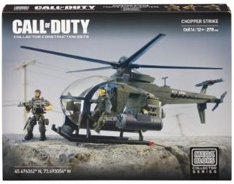 Call of Duty Chopper Strike - Bauset Mega Blocks 06816U