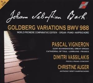 Goldberg Variations-Comparative Edition