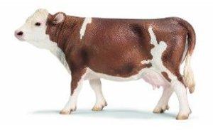 Schleich 13641 - Farm Life: Fleckvieh-Kuh