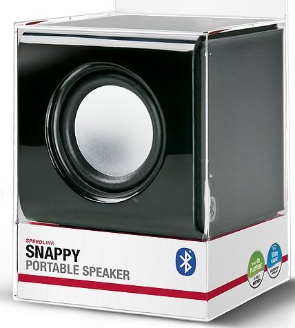 Speedlink SNAPPY Portable Speaker - Bluetooth®-Lautsprecher, sch