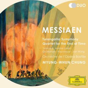 Turangalila Symphony. Quartet for the End of Time, 2 Audio-CDs