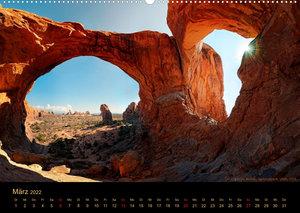USA Der Südwesten - Einzigartige Monumente (Wandkalender 2022 DIN A2 quer)