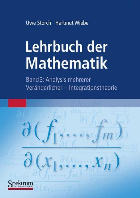 Lehrbuch der Mathematik, Band 3