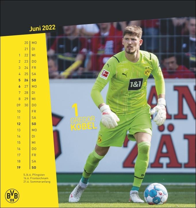 BVB Postkartenkalender 2022