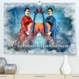 Flohmarktfantasien (Premium, hochwertiger DIN A2 Wandkalender 20