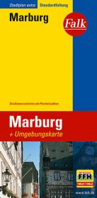 Falk Stadtplan Extra Standardfaltung Marburg 1 : 16 000