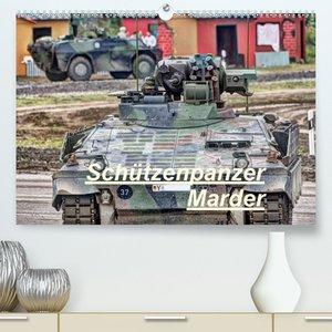Schützenpanzer Marder (Premium, hochwertiger DIN A2 Wandkalender