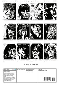 The Greatest Rock \'n Roll Band (Wandkalender 2022 DIN A3 hoch)