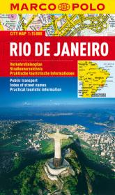 MARCO POLO Cityplan Rio de Janeiro 1 : 15.000
