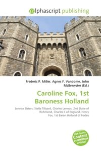 Caroline Fox, 1st Baroness Holland