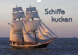 Schiffe kucken (Wandkalender 2021 DIN A4 quer)