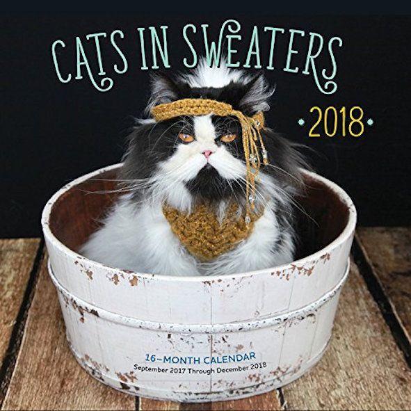 Cats in Sweaters Mini 2018