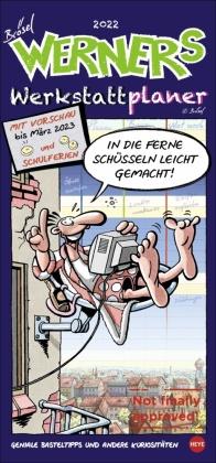 Werner Werkstattplaner Kalender 2022