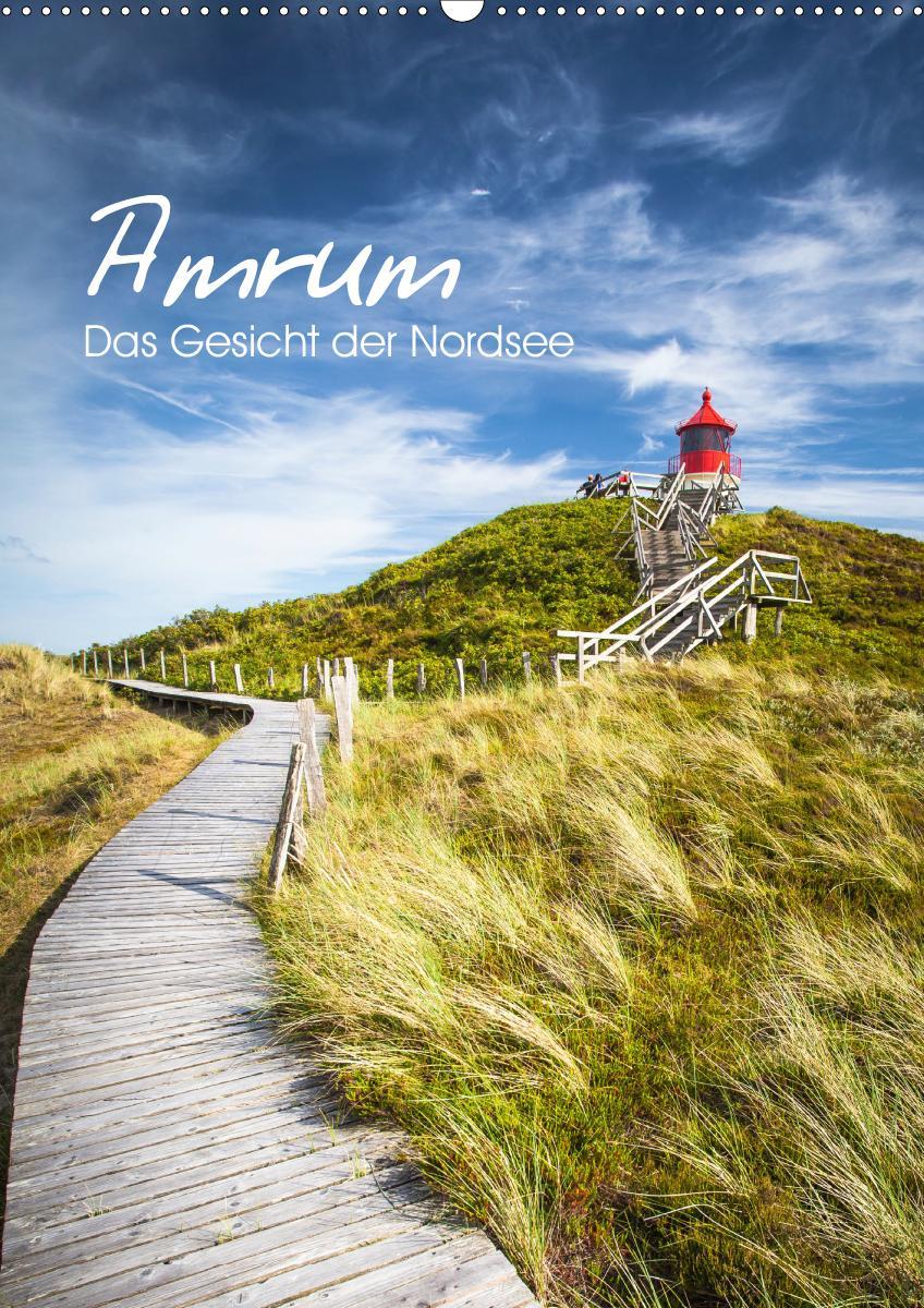 Amrum - Das Gesicht der Nordsee (Wandkalender 2021 DIN A2 hoch)