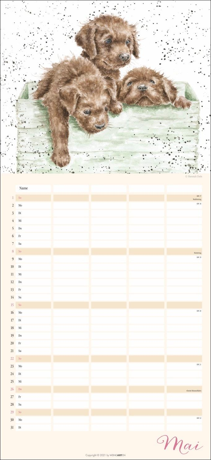 Happy Family Familienplaner Kalender 2022