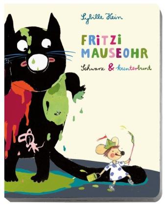 Fritzi Mauseohr Schwarz & Kunterbunt