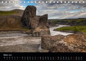 Island (Tischkalender 2021 DIN A5 quer)
