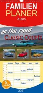 on the road Classic Coupés - Familienplaner hoch (Wandkalender 2021 , 21 cm x 45 cm, hoch)