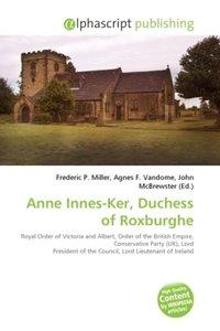 Anne Innes-Ker, Duchess of Roxburghe