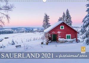 Sauerland - faszinierend schön (Wandkalender 2021 DIN A3 quer)