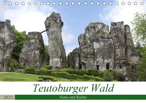 Teutoburger Wald - Natur und Kultur (Tischkalender 2021 DIN A5 q