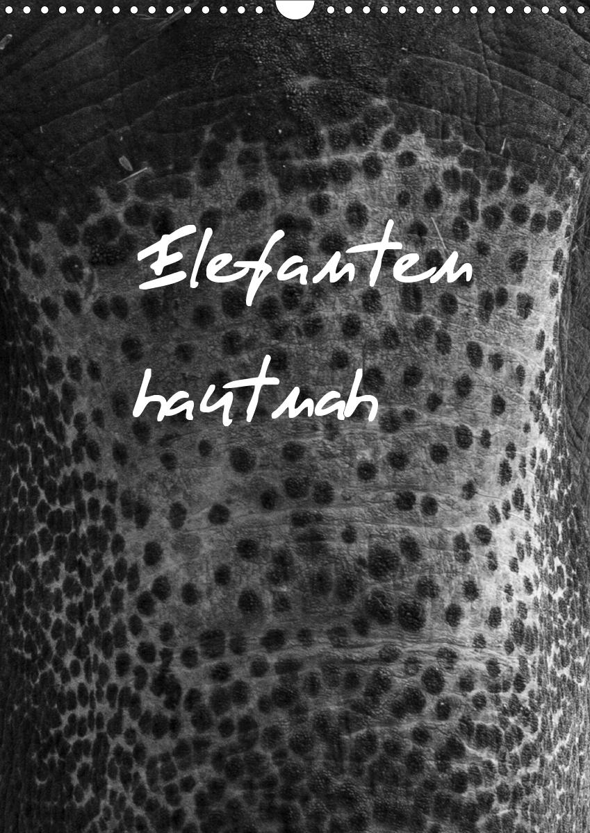 Elefanten hautnah (Wandkalender 2021 DIN A3 hoch)