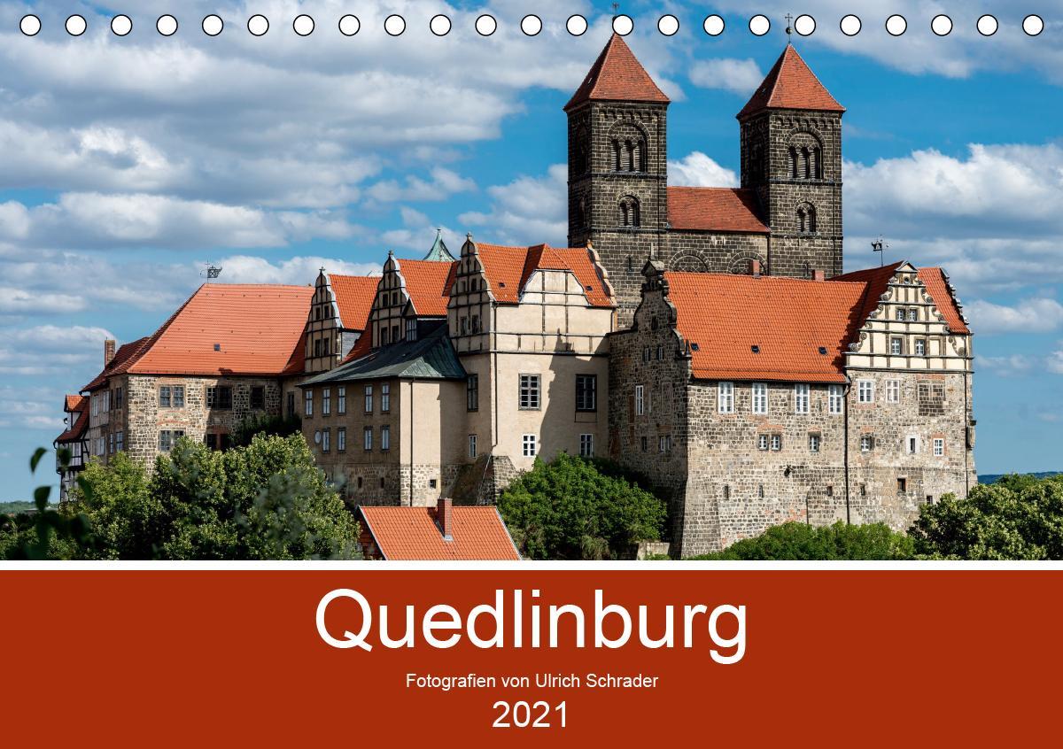 Quedlinburg 2021 (Tischkalender 2021 DIN A5 quer)