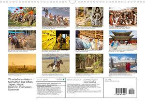 Malerisches Asien: Wunderbare Menschen (Wandkalender 2022 DIN A3 quer)