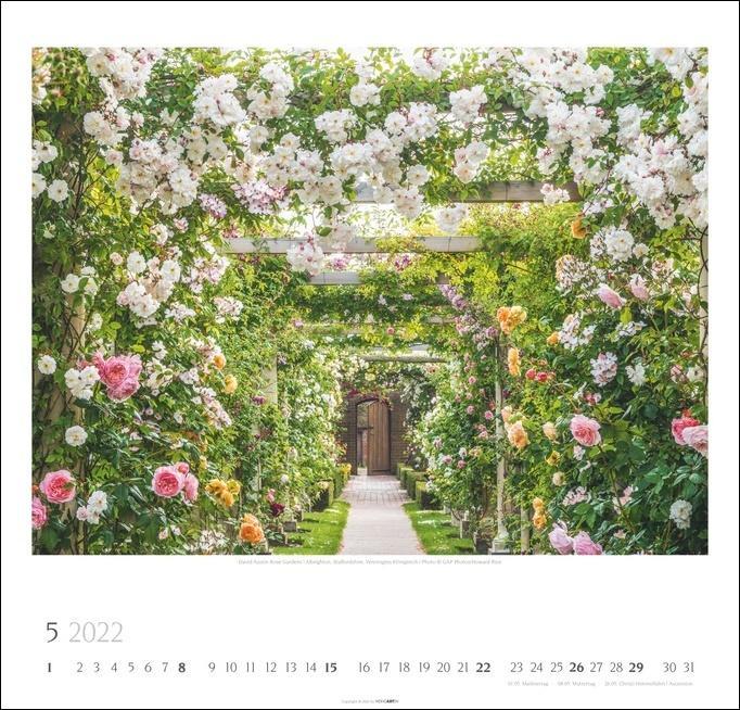Die schönsten Gärten der Welt Kalender 2022